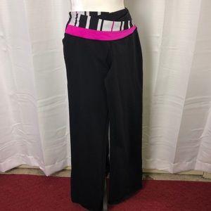Lululemon Astro Pants Wide Flare Leg Size 10 Reg